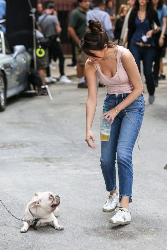 Godelina - Nip slip van Selena Gomez op filmset van Woody