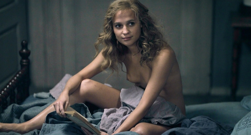 Mooie Alicia Vikander wint Oscar voor bijrol in The Danish Girl!