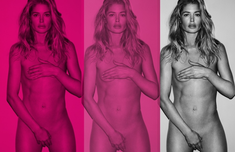 Naked and Afraid: Doutzen Kroes en Lara Stone