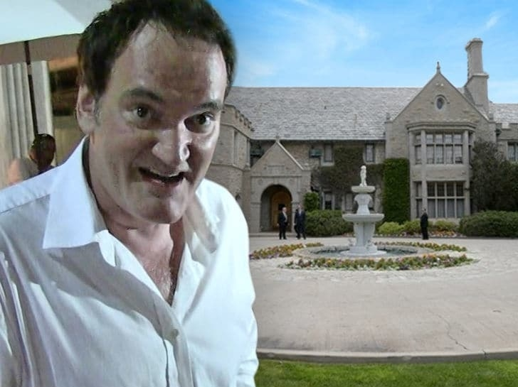 Quentin Tarantino mag première party geven in gerestaureerde Playboy Mansion