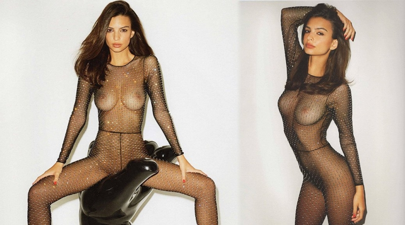 Emily Ratajkowski voor de lens van enfant terrible Terry Richardson