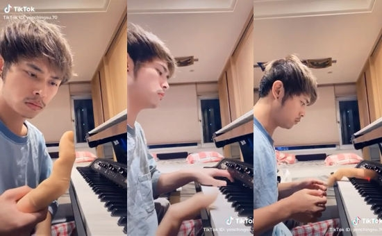 TikTok piano song (VIDEO)